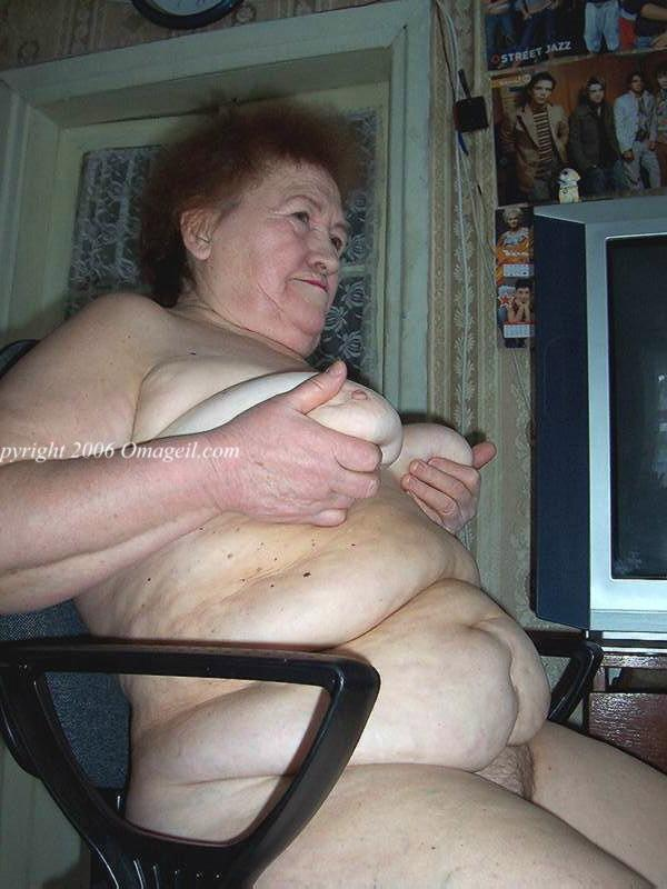 smoder granny old Very fat naked