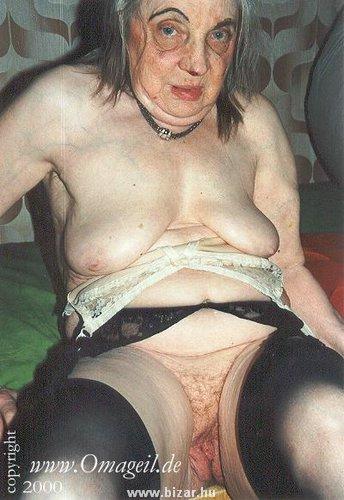 nasty old lady naked